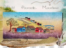 """ref: ALBE01 / """" Petit port Maritime """""""