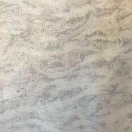 Coupon toile Aida 7 pts au cm - Marbré clair gris - 50 x 55 cm