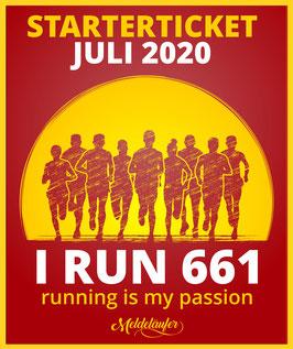 "Starterticket ""I RUN 661"""