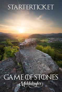 """Starterticket """"Game of Stones"""""""