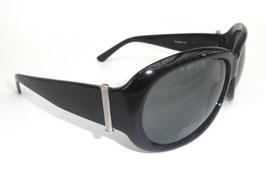 Damensonnenbrille in Schwarz/ Graublau  (39)