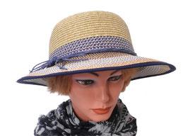 Damen Strohhut Schute Papierstroh Sommerhut Strohhüte Damenhüte Urlaub Garten (64)