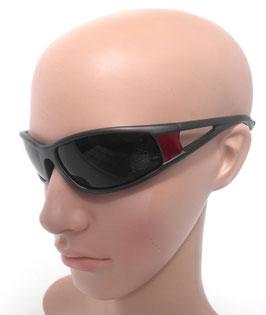 Sonnenbrille sportlich Graurot Damenbrille Herrenbrille Sonnenbrillen UNISEX (43)