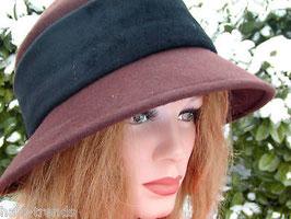 Damenhut in Dunkelbraun elegante Damenhüte (20)