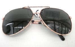 Sonnenbrille Pilotenbrille in Gold/Grün Vintage UNISEX Retro Sonnenbrillen (9)