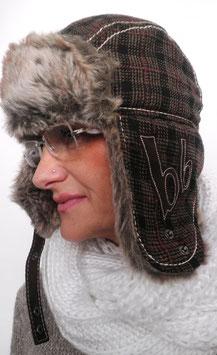 Tschapka/Pilotenmütze von Bruno Banani Wind,warm UNISEX Wintermütze (3)
