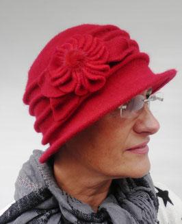 Wollmütze /Hut im Stil der 20er Jahre( 34 )