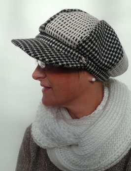 Damenmütze Schirmmütze Damenmützen Damenhüte Anlasshüte Wintermützen (13)