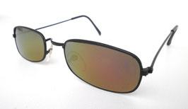 Sonnenbrille Nickelbrille in schwarz verspiegelt Retro Vintage 60er Jahre (18)