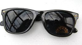 Sonnenbrille in Schwarz Retro Vintage 80er Jahre UNISEX Sonnenbrillen (23)