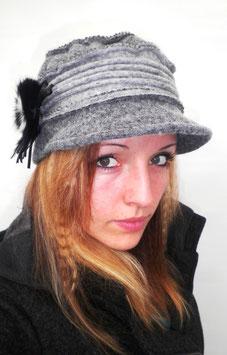 Damenmütze Wollmütze in Dunkelbraun hats-trends ( 4 )