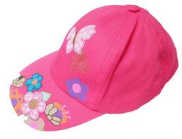 Mädchen Mütze Basecap Sonnenschutz Urlaub Garten Spielplatz in 2 Varianten zur Auswahl. ( 3 )