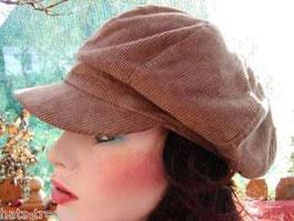 Bakerboy Cord in 3 Farben zur Auswahl Mütze Cap Damenmütze Schirmmütze (9)