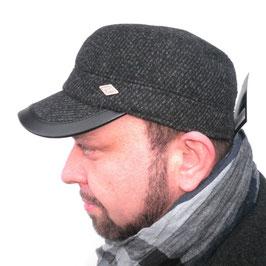 Herrenmütze Wintercap mit Ohrenklappen ( 5 )
