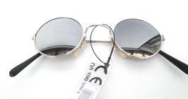 Nickelbrille Silber verspiegelt Retro Vintage 60er Jahre Sonnenbrillen (4)