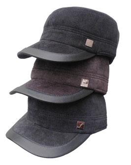Herrenmütze Cordschirmmütze Wintermütze mitOhrenschutz Wollhüte Cap`s in 3 Farben zur Auswahl ( 8 )