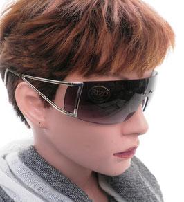 Sonnenbrille Damenbrille mit Grauilatönung Damenbrillen Sonnenbrillen (33)