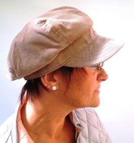 Damenmütze Cordschirmmütze Übergangsmütze gefüttert Farbauswahl Schirmmützen (14)