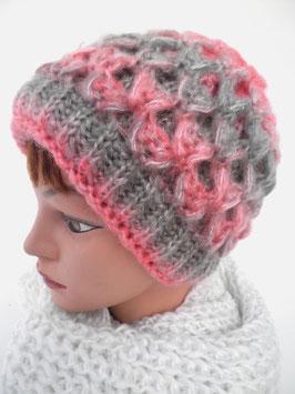 Damenmütze Strickmütze Mehrfarbig (28)