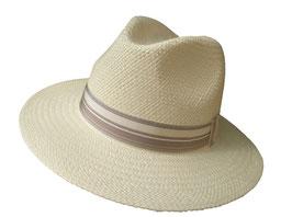 "Panamahut Klassiker gerade Hutkrempe  ""Made in Ecuador"" Fasern aus Toquillas. ( 48 )"