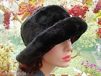 Damenmütze Fellmütze Hut Mütze (17)