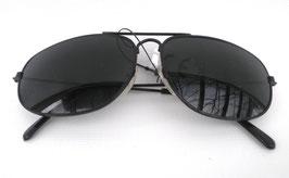 Sonnenbrille Pilotenbrille Schwarz Vintage UNISEX Damenbrille Herrenbrille (2)