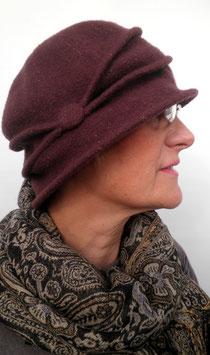 Wollmütze /Hut im Stil der 20er ( 32 )
