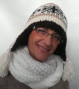 Damenmütze Wintermütze Alpakamütze ( 5 )