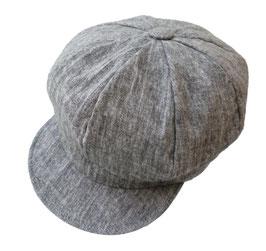 Damen Sommermütze leichte Leinenmütze Schirmmütze Farbauswahl Cap Ballonmütze ( 0.2 )