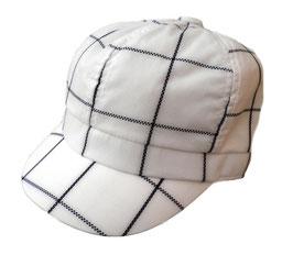 Damen Mütze Schirmmütze Sommermütze Weißtöne Sonnenschutz Damenhüte Cap Trend ( 0 )