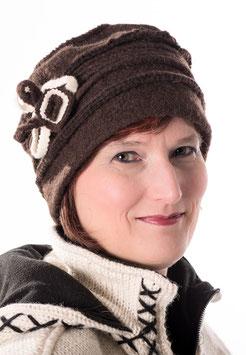 Damenmütze Wollmütze in Dunkelbraun hats-trends ( 3 )