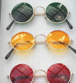 Karneval/ Fasching Nickelbrille in 8 Farben zur Auswahl bunte Spaßbrille (5)