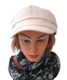 Damen Mütze leichte Sommermütze Schirmmütze Hellbeige Sonnenschutz Damenhüte Cap ( 0.1 )