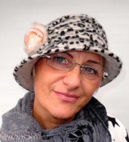 Wollmütze /Hut im Stil der 20er Jahre( 33 )