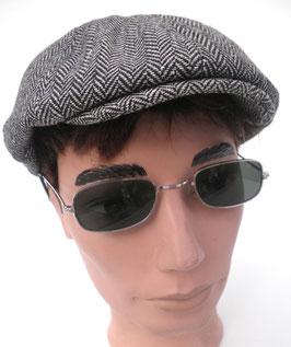 Sonnenbrille Nickelbrille in Silber / Grün Retro Vintage 60er Jahre UNISEX (20)