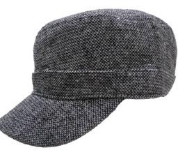 Herrenmütze Cap im Tweedmuster Herrenmützen Herrenhüte (0)