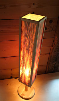 Stehlampe Kiefer viereckig