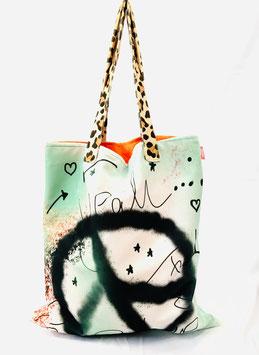Tote Bag Mint & Peace