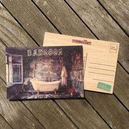 Post Woodkaart - Badroom