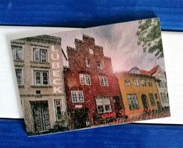 Post Woodkaart - Lübeck Hansehäuser