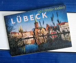 Post Woodkaart - Lübeck Obertrave