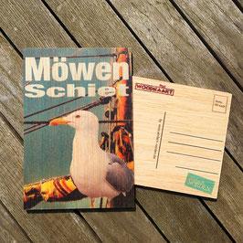 Post Woodkaart - Möwenschiet