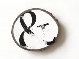 """Baumscheibe """"ampersand"""""""