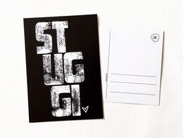 """Postkarte """"stuggi"""""""