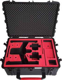 Professional Carry Case fits for DJI Inspire Pro X5 Zenmuse- With mounted Camera (Landing Mode)