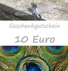 Geschenkgutschein 10 Euro