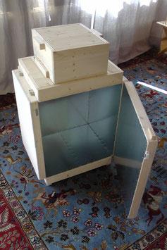 Kleine Kopierstation 48 x 48 x 76 cm