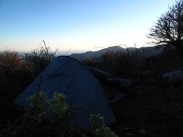 Nuit sous tente