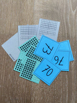 Laminierte und geschnittene Mathe-Starter Produkte