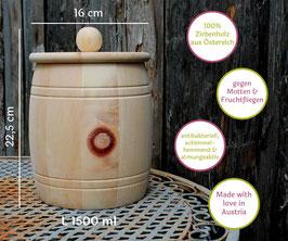 L Vorratsdose aus Zirbe - Fässer
